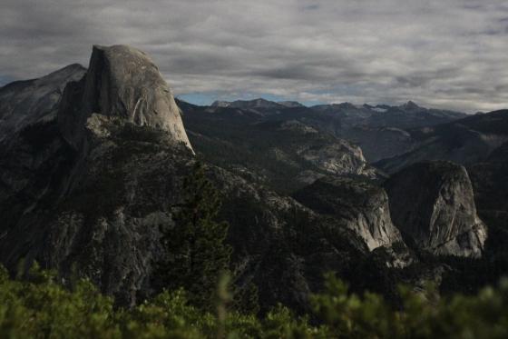Half Dome Yosemite Super Moon